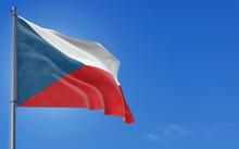 Czech Republic Flag Waving In ...