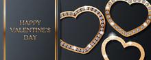 Luxury Valentines Day Vector G...