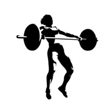 Weightlifting Squats, Strong W...