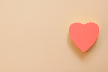 Heart Shape Paper Note With A ...