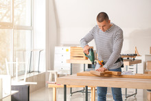 Handyman Assembling Furniture ...