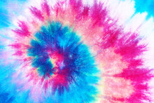 Spiral Tie Dye Pattern Abstrac...