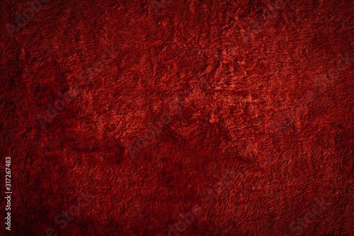 bright red texture with different shades of red and transitions from light to sh Canvas Print