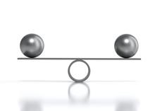Balancing Balls Cradle