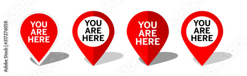 Cuadros en Lienzo You are here, marker location Icon