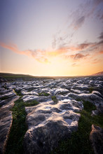 Malham Cove At Sunrise