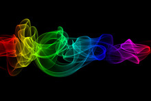 Color Smoke Design Isolated On...