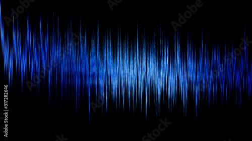 Photo Audio digital equalizer technology, pulse musical