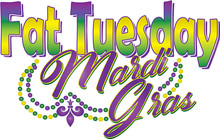 Fat Tuesday Mardi Gras Banner