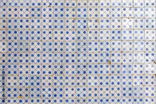 Fototapeta Portuguese tiles pattern - Azulejos obraz na płótnie