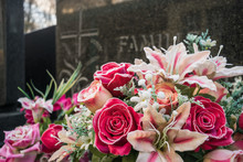 Family Grave With Artificial F...