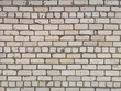 Texture of old silicate white brick brick wall or brickwork for background