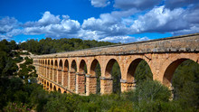 The Ferreres Aqueduct, Also Po...