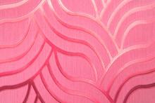 Flamingo Color Wavy Background