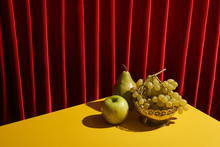 Classic Still Life With Green ...