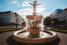 View Of Ganymede's Fountain In...