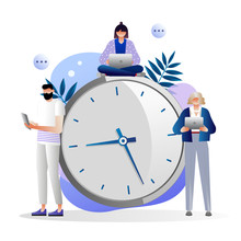 Time Management Concept, Quick...