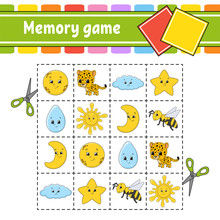 Memory Game For Kids. Educatio...