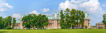 Grand Palace In Tsaritsyno Park, Moscow, Russia