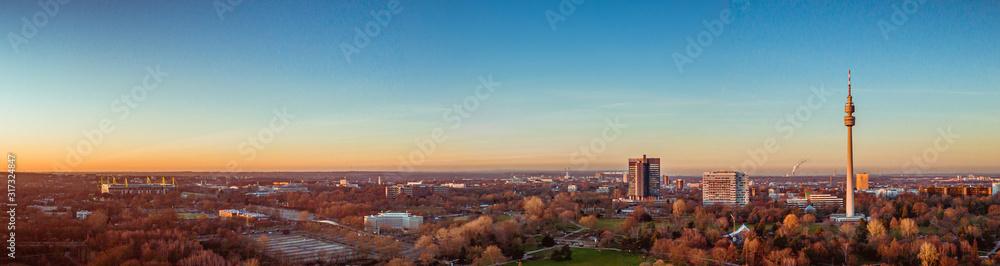 Fototapeta Dortmund Panorama