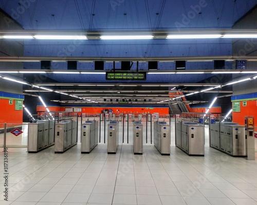 Photo Metro Estación Madrid
