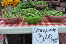 String Bean Baskets!