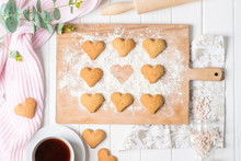 Heart Shaped Cookies, Cozy Ph...