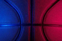 Closeup Detail Of Basketball B...
