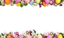 Easter Decoration. Pink Flower...