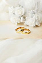 Weddingrings And Flowers, Wedd...