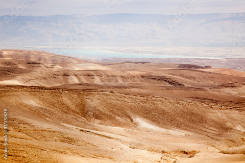 Desert from Arad Overlook, Israel.