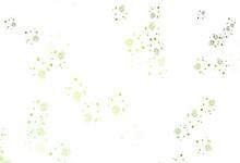 Light Green, Yellow Vector Pat...