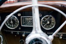 Fragment Of Metal Steering Whe...
