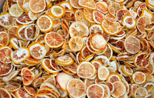 Orange And Lemon Slices Drying...