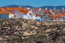 Holiday Villas Protected From Atlantic Ocean By Sand Dunes