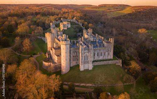 Arundel Castle, Arundel, West Sussex, England, United Kingdom Wallpaper Mural