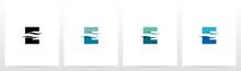 Water Wave On Letter Logo Desi...