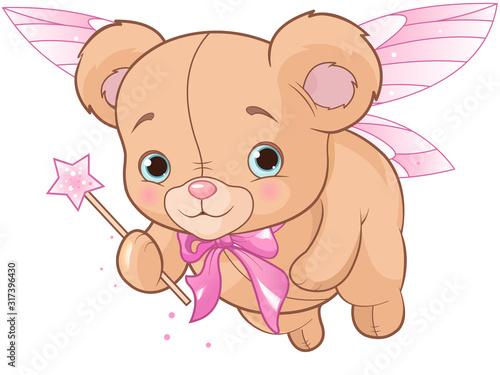 Flying Teddy Bear #317396430