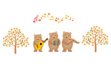 クマさんの音楽会