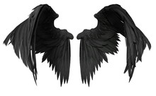 3D Rendered Fantasy Angel Wing...