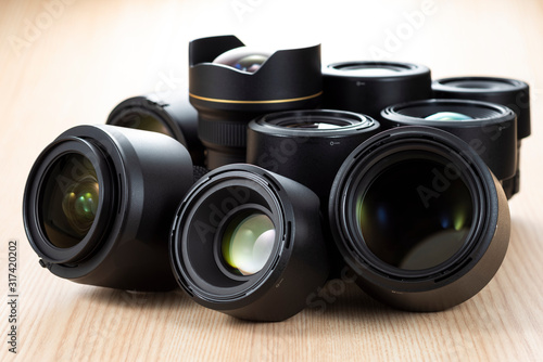 Obraz 写真レンズ - fototapety do salonu
