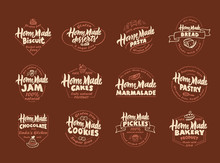 Set Of Vintage Homemade. Pastr...
