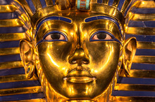 Replica Of The Tutankhamun's F...