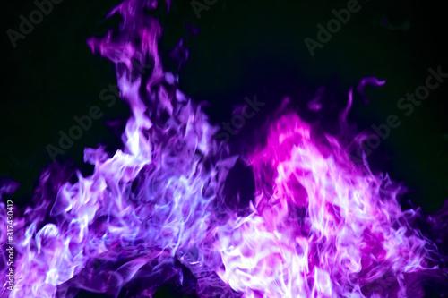 Obraz na plátně purple fire_4000
