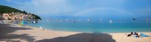 Beach Panorama Moscenicka Drag...