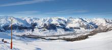 Panoramic View Of The Ski Reso...
