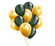 Colorful Balloons Flying for Party and Celebrations Vector Background.