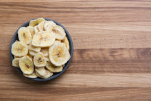 Dehydrated, Dried Banana Chips...