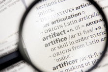 Artifact And Artifice Word Or ...