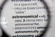 The Word Or Phrase Astronomica...